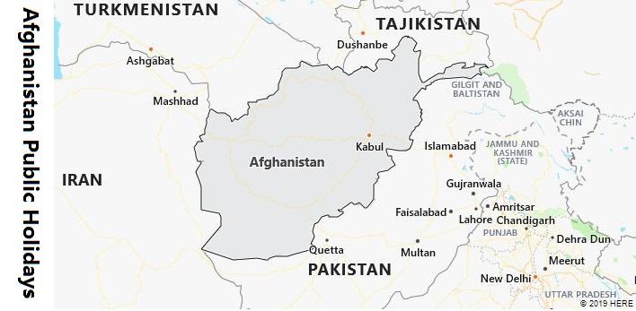 Afghanistan Public Holidays