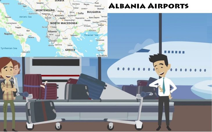 Airports in Albania