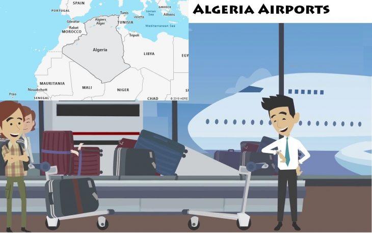 Airports in Algeria