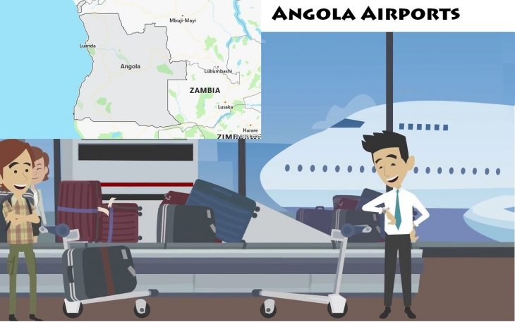 Airports in Angola
