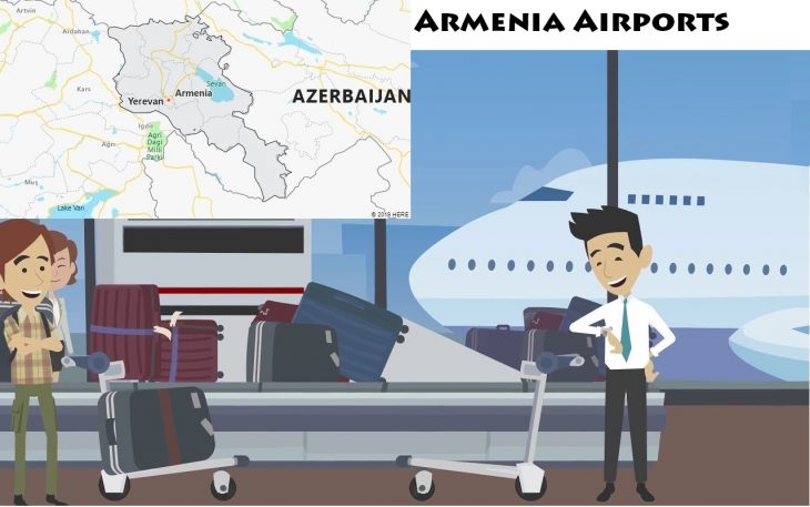 Airports in Armenia