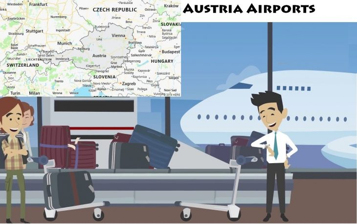 Airports in Austria