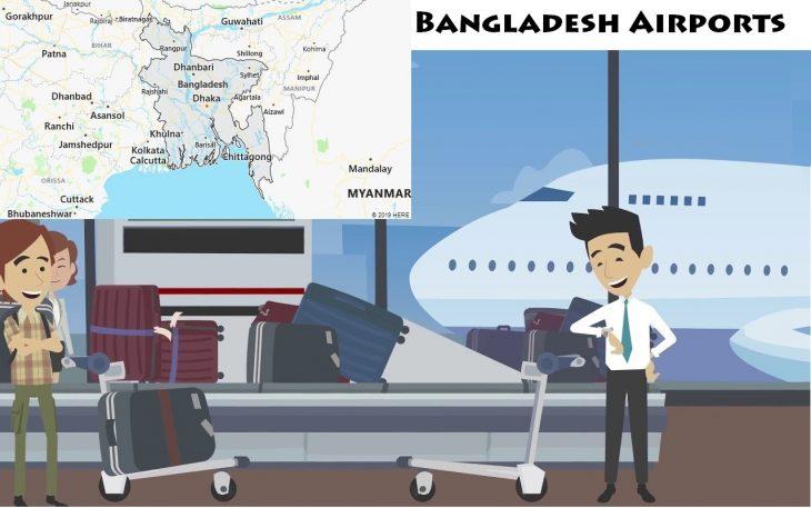 Airports in Bangladesh