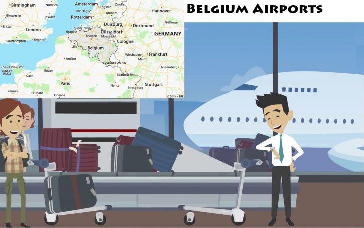 Airports in Belgium