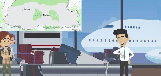 Airports in Bhutan