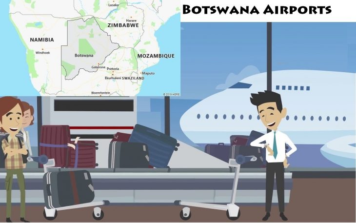 Airports in Botswana