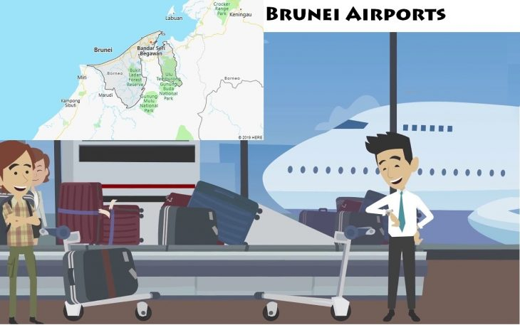 Airports in Brunei
