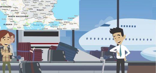Airports in Bulgaria