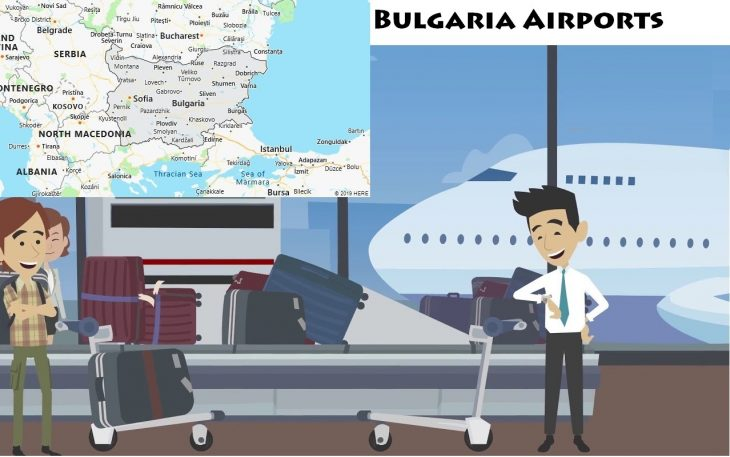 Airports in Bulgaria