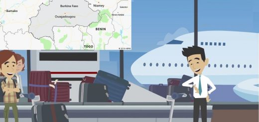 Airports in Burkina Faso