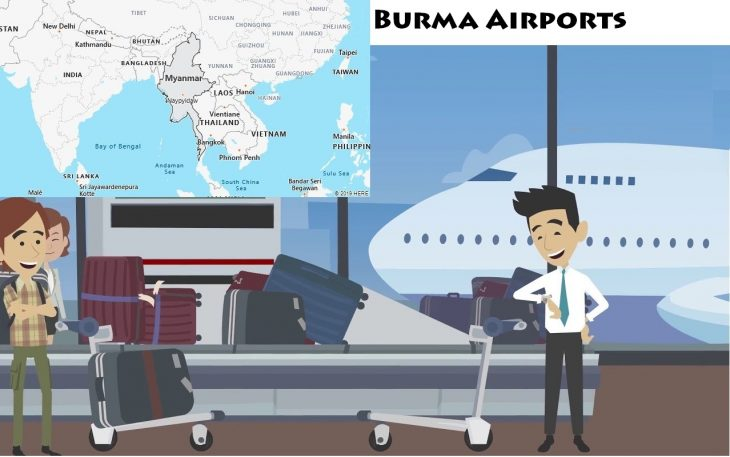 Airports in Burma