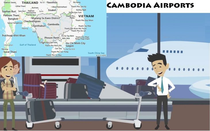 Airports in Cambodia