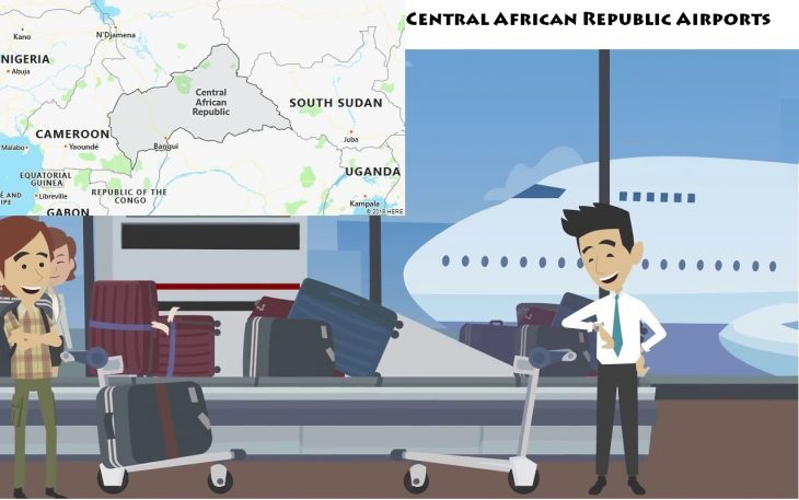 Airports in Central African Republic