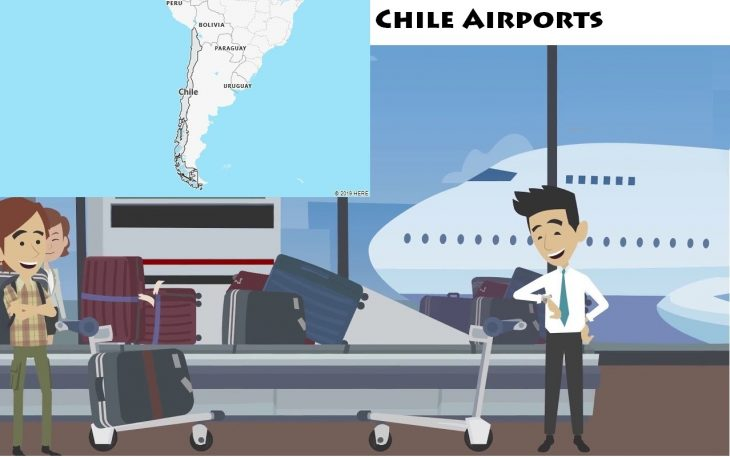 Airports in Chile