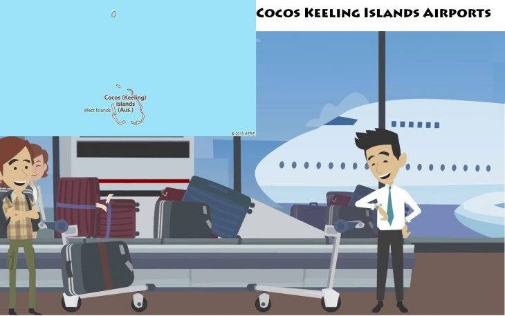 Airports in Cocos Keeling Islands