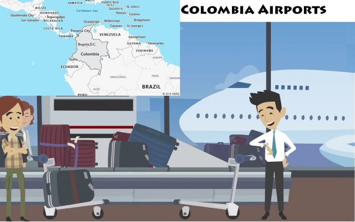 Airports in Colombia