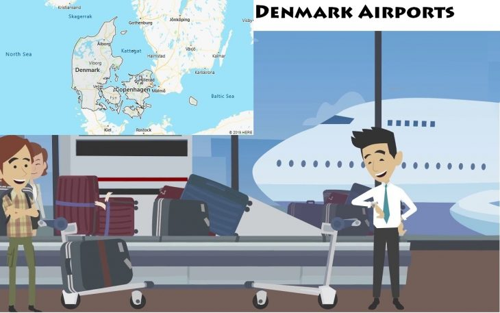 Airports in Denmark