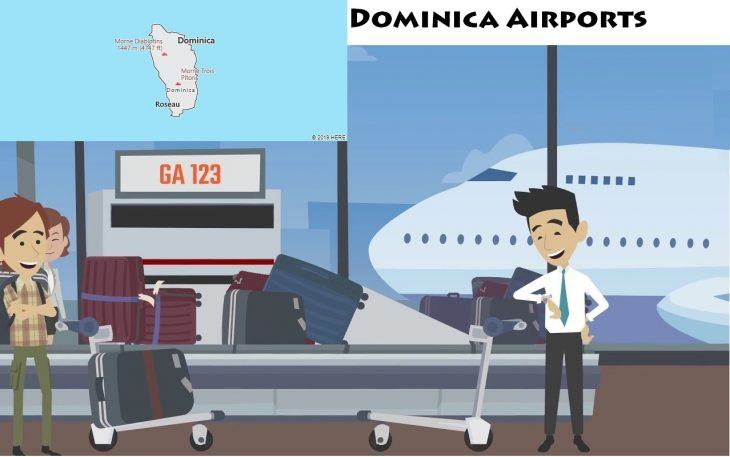 Airports in Dominica