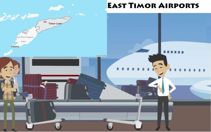 Airports in East Timor
