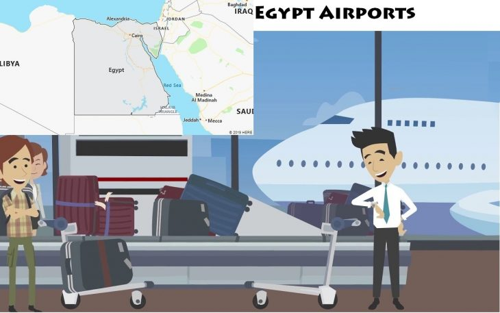 Airports in Egypt