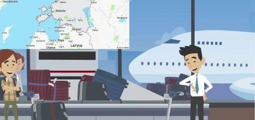 Airports in Estonia