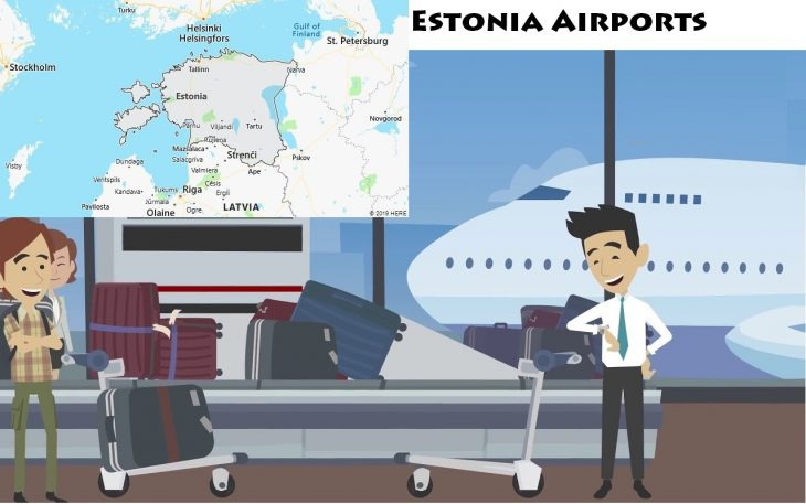 Airports in Estonia