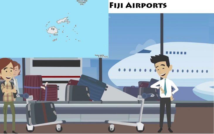 Airports in Fiji