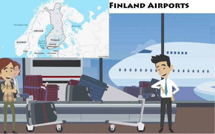 Airports in Finland