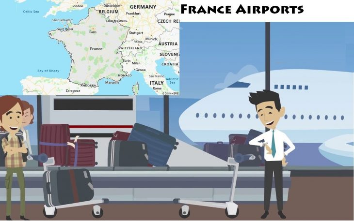Airports in France