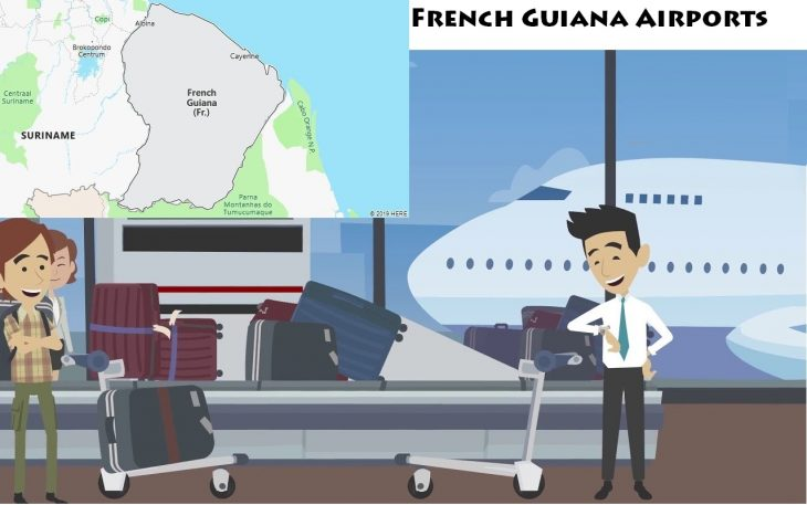Airports in French Guiana