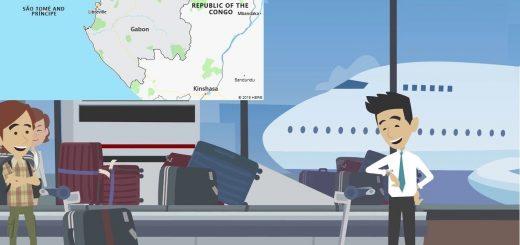 Airports in Gabon