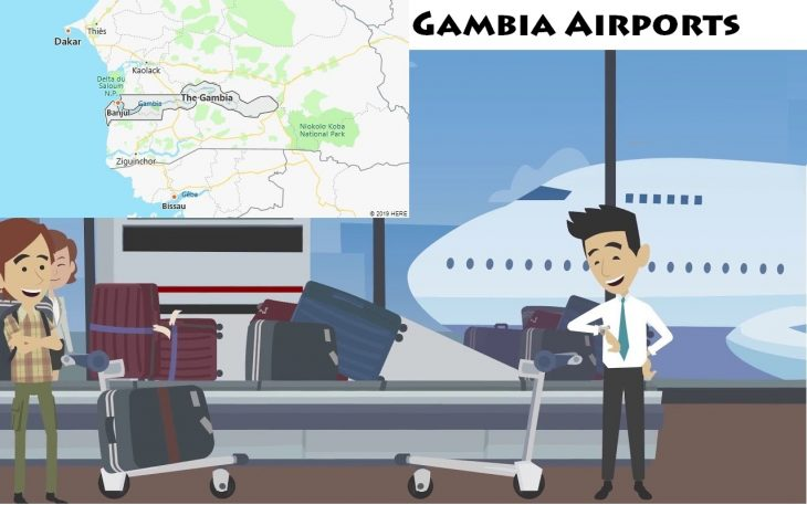Airports in Gambia