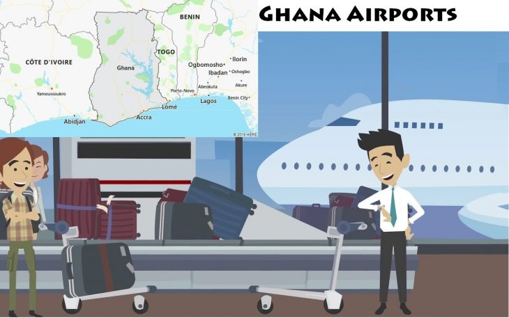Airports in Ghana