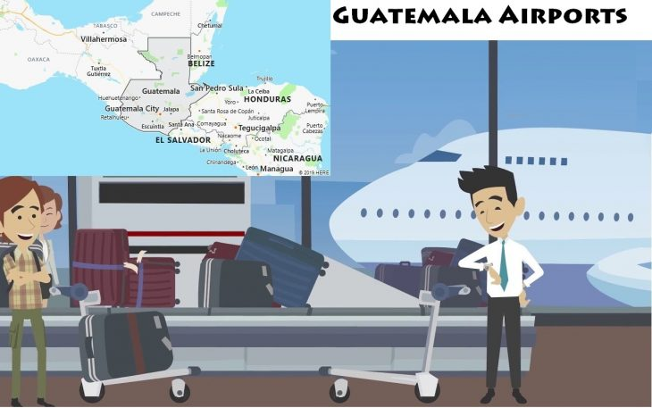 Airports in Guatemala