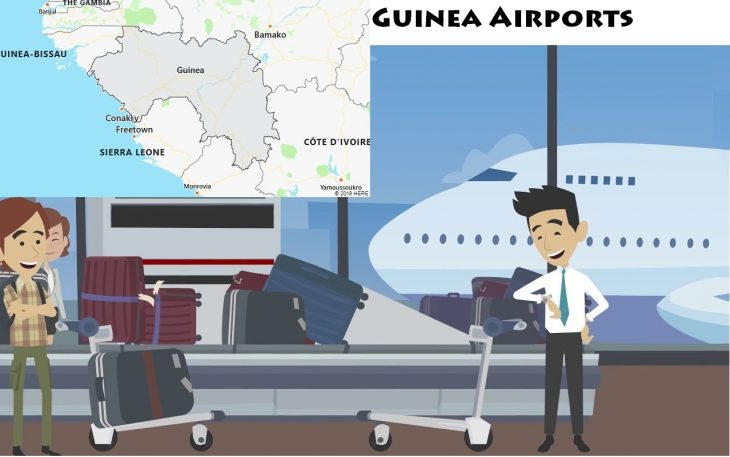 Airports in Guinea