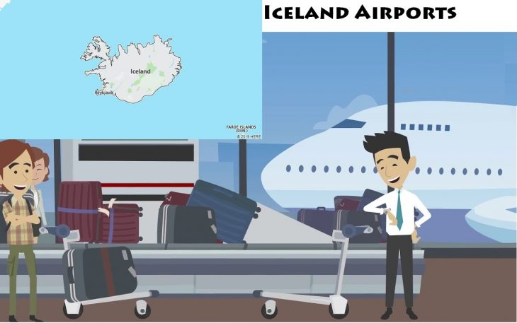 Airports in Iceland