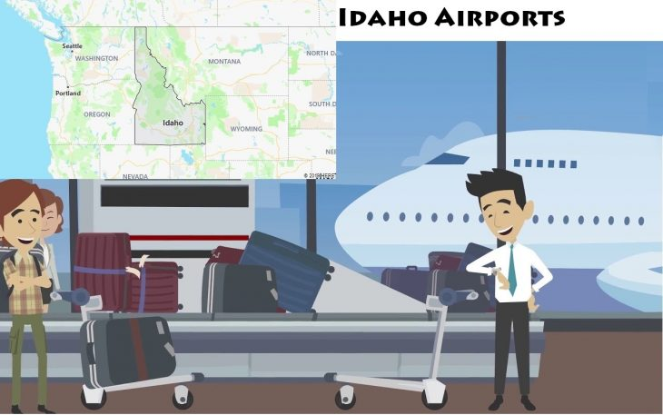 Airports in Idaho
