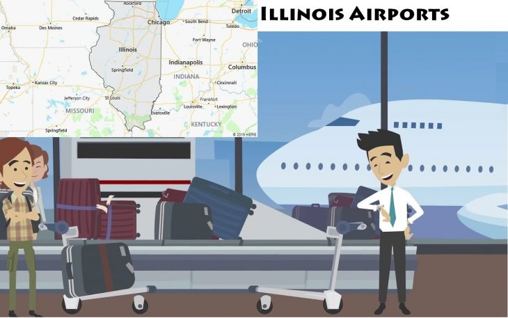 Airports in Illinois