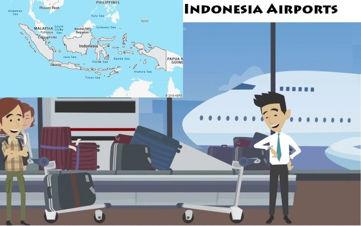 Airports in Indonesia
