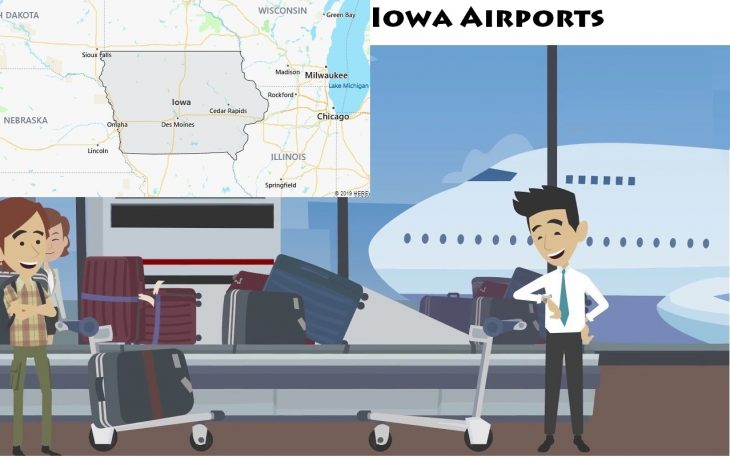 Airports in Iowa