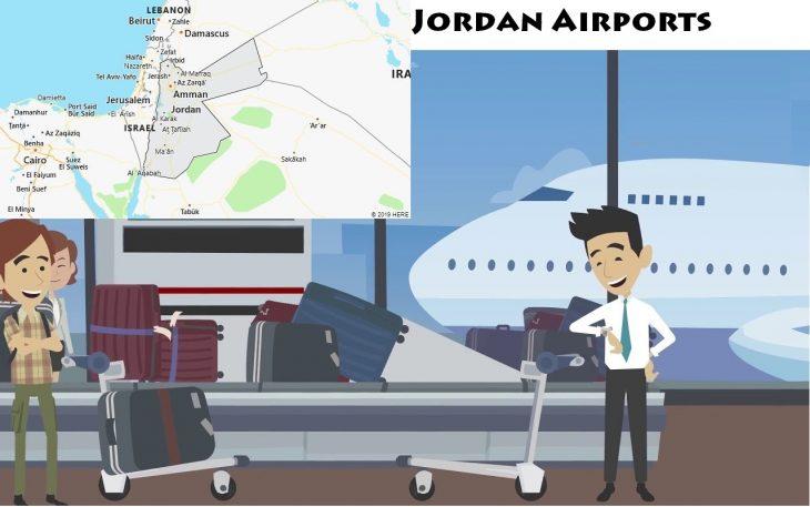 Airports in Jordan