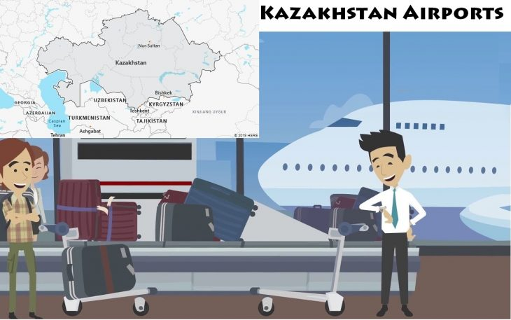 Airports in Kazakhstan