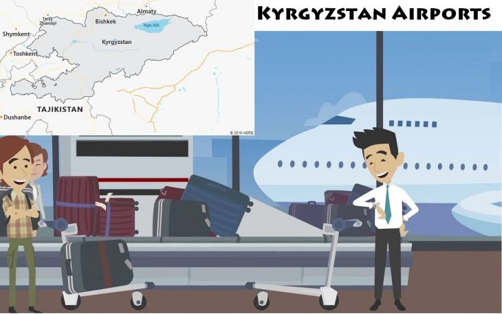 Airports in Kyrgyzstan