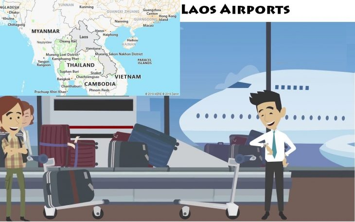 Airports in Laos
