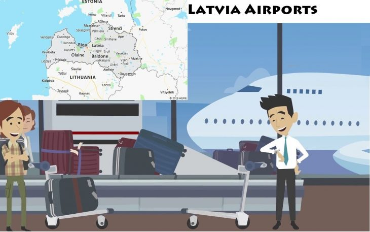 Airports in Latvia