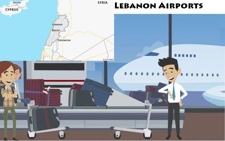 Airports in Lebanon