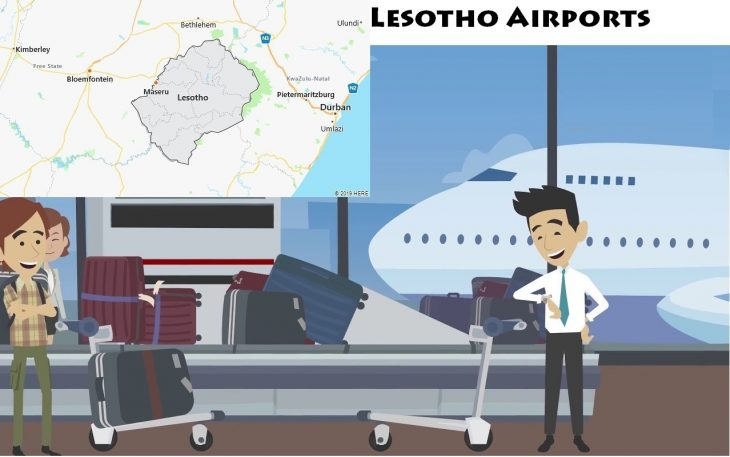 Airports in Lesotho