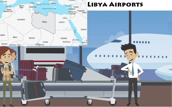 Airports in Libya