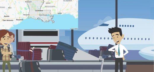 Airports in Louisiana