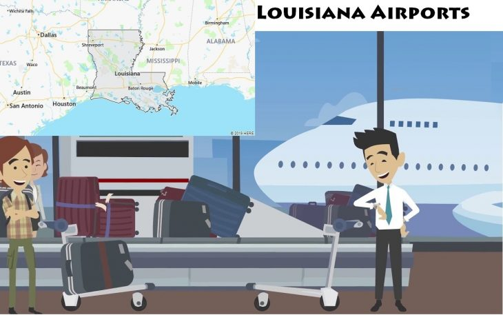 Airports in Louisiana